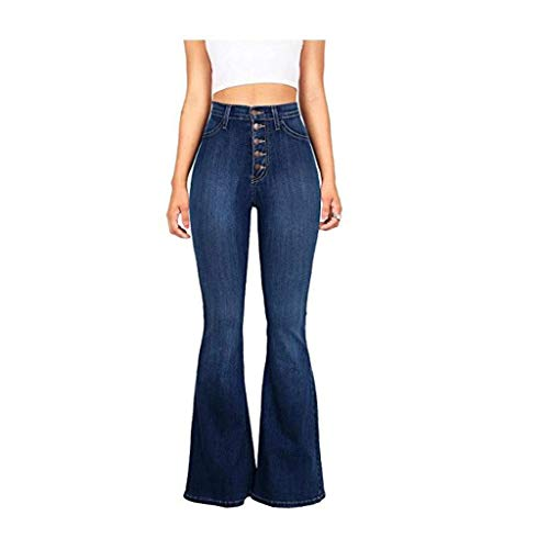 Micro Trompeta Alto Mujer Jeans 1 Talle de Slim Jeans Jeans RXF YHqZ0