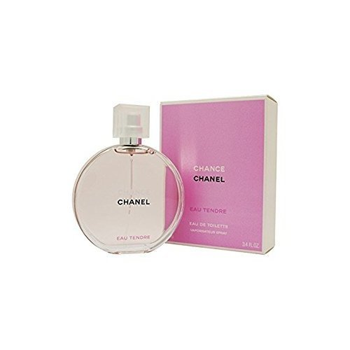 C H A N E L TENDRE EAU DE TOILETTE SPRAY 3.4 OZ.