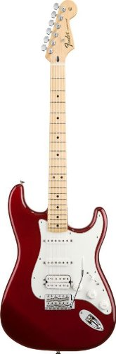 Fender Standard Stratocaster Electric Guitar - HSS - Maple Fingerboard, Candy Apple Red