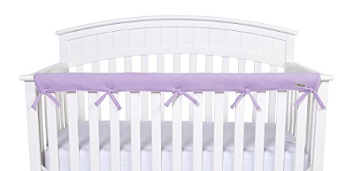 Trend Lab Waterproof CribWrap Rail Cover - For Narrow Long Crib Rails Made to Fit Rails up to 8