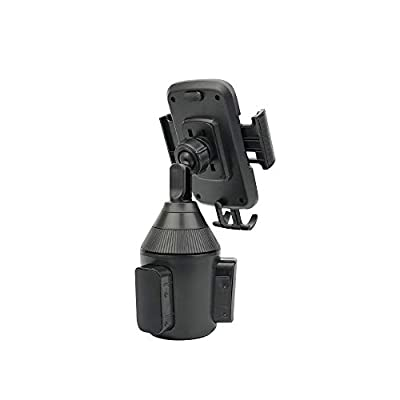 Car Cup Phone Holder-Universal Car Phone Holder Cup Holder Cell Phone Mount Compatible with All Phones.