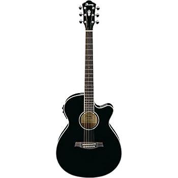 ibanez aeg10e aeg series acoustic electric guitar black musical instruments. Black Bedroom Furniture Sets. Home Design Ideas