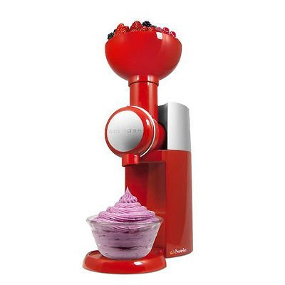 Big Boss Swirlio Frozen Fruit Dessert Maker -Red