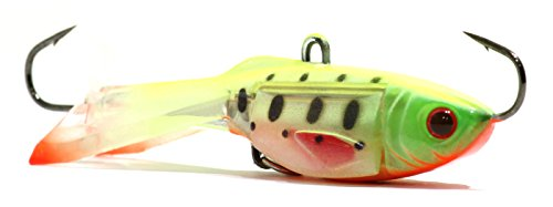 Acme Tackle Hyper-Glide Artificial Fishing Bait, Walleye World, 1.5