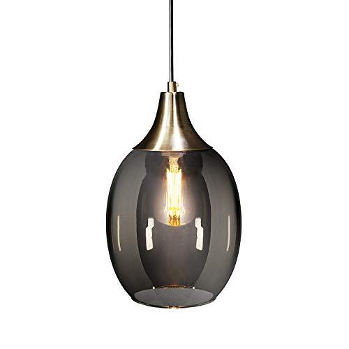 Southern Pendant Light 2 - Southern Enterprises AMZ8008TL Harlem Pendant Lamp, Bronze