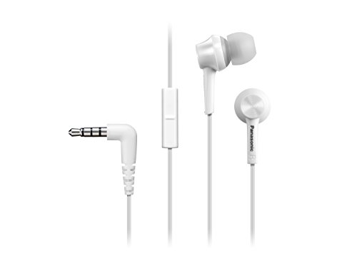 Panasonic Schwarz RP TCM105E W in Ear Headphones  White