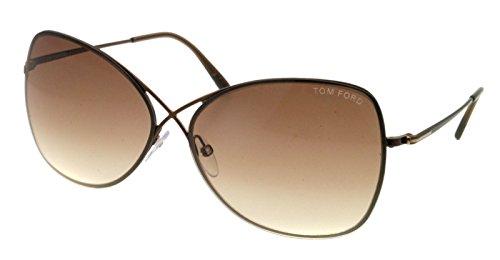 Tom Ford Sunglasses TF 250 BRONZE 48F Collete