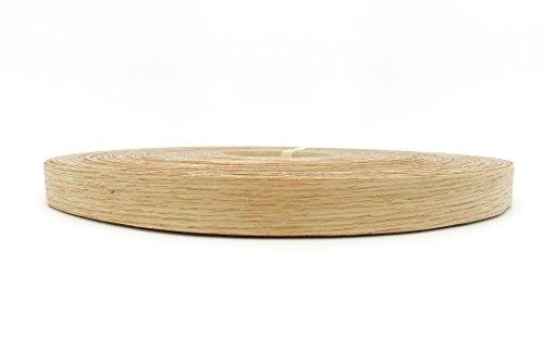 Red Oak Wood Veneer Edge Banding Preglued 13/16