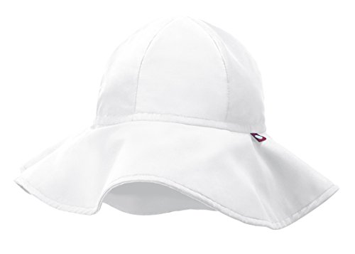 City Thread Swimmig Hat for Boys and Girls, Swim Hat Bucket Floppy Hat with SPF Sun Protection SPF For Beach Summer Pool, White, (Cheap Bucket Hats)