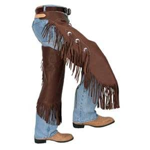 Weaver Chinks Chaps - Size:Medium Color:Brown