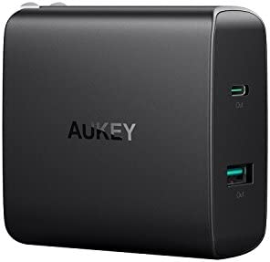 Aukey PA-Y10 USB-C 56.5W Wall Charger