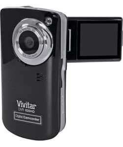 Vivitar Flash Memory 5.1MP Camcorder with 1.8'' Monitor - Black by Vivitar