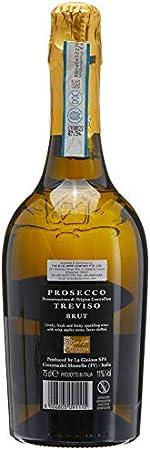 La Gioiosa Brut Prosecco Italiana DOC - 3 Paquetes de 750 ml - Total: 2250 ml