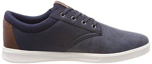 lowest price cheap online buy cheap shopping online Jack & Jones Men's Jfwgaston Pu Combo Navy Blazer Trainers Blue (Navy Blazer Navy Blazer) ivDOwVUo