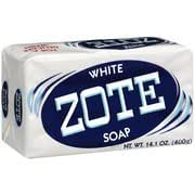 Zote  White Laundry Bar Soap with Soap grater