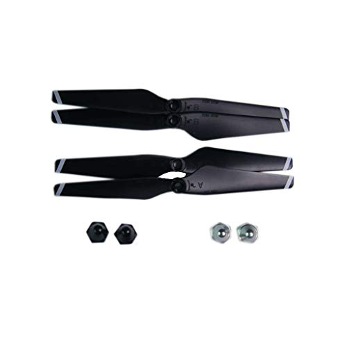 MChoice❤️for C-Fly Smart/JJRIC X7 RC Quadcopter Drone Spare Parts Propeller Blades Black