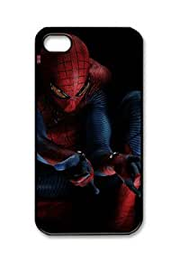 The Amazing Spider Man Iphone 4/4S Black Sides Hard Shell PC Case by eeMuse by runtopwell