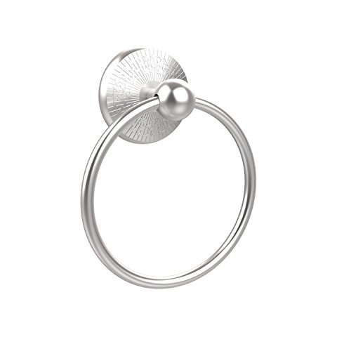 - Allied Brass PMC-16-SCH 6-Inch Towel Ring, Satin Chrome