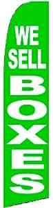 Vendemos cajas Swooper bandera color: verde