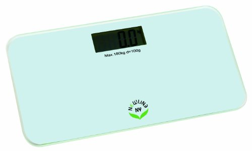 NewlineNY Step-On Mini Digital Travel Bathroom Scale: 5 colors 700-Series (White) by NewlineNY