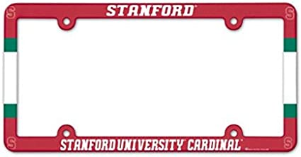 WinCraft NCAA Stanford University Metal License Plate Frame
