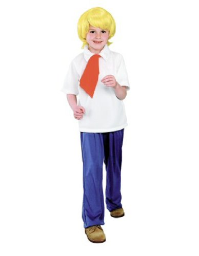 Scooby-Doo Fred Halloween Costume - Large (Scooby Doo Halloween Costume)