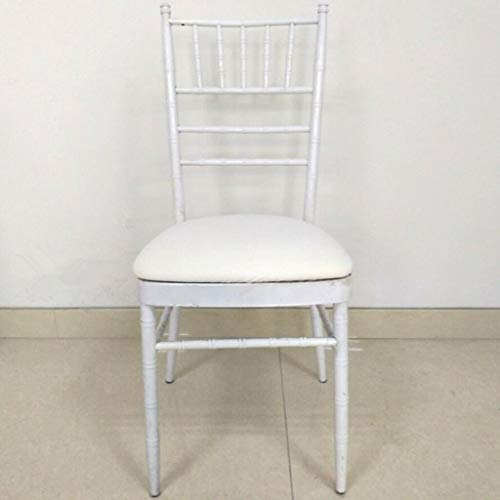 10pc Stretch Dining Chair Cover Wedding Banquet Party Reception Decor White Bronze Round Bar Stool