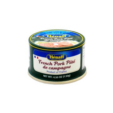 Henaff French Country Pork Pate - pack of 2