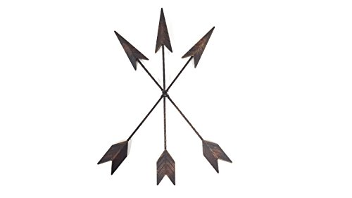 Cast Iron Three Arrow Wall Decor