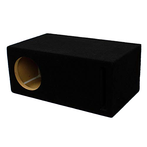LAB SlapBox 0.32 ft³ Ported/Vented MDF Sub Woofer Enclosure Box for Single Sundown Audio 6.5″ X (X6.5) Car Subwoofer | 3/4″ Premium MDF Construction | Made in USA