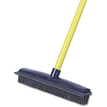 Amazon Com Landhope Push Broom Long Handle Rubber