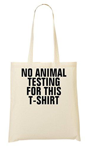 No Animal Tested This Bolso De Mano Bolsa De La Compra