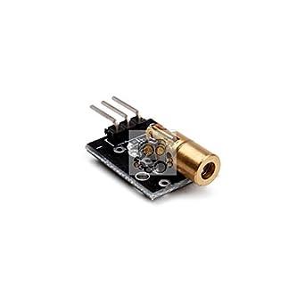 REES52 Laser sensor Module Laser Sensor Module 6Mm 5V for Arduino Ar611