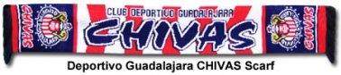 Chivas De Guadalajara Scarf