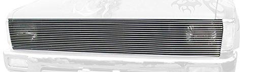 orizontal Aluminum Polished Finish Billet Phantom Grille Insert for Toyota Pick Up (Pickup Polished Billet Insert)