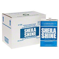 Sheila Shine Inc. Stainless Steel Cleaner and Polish Eliminates Streaking and Finger Marks - qt. 12 per (Sheila Shine Liquid)