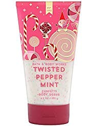 Bath and Body Works TWISTED PEPPERMINT Funfetti Body Scrub 6.2 Ounce (2018 Edition)