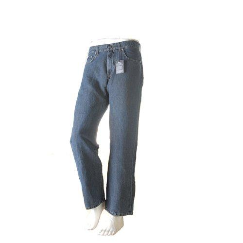 Gant Mens Tyler Linen Blend Jeans (40x32, Midstone)