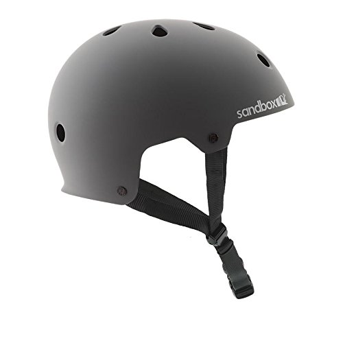 SANDBOX Legend Low Rider Helmet, Grey, Medium