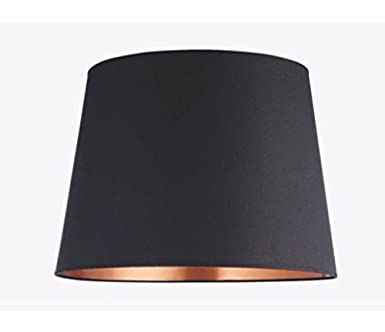 onepre tapered large lampshade black and copper color lamp shades for table lamps floor lamp ceiling - Large Lamp Shades