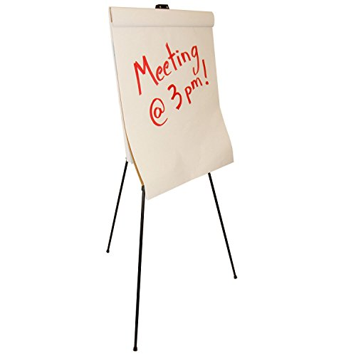 US Art Supply 66 inch Tall Showroom Large Black Aluminum Display & Presentation Floor Easel (4-Easels) by US Art Supply (Image #3)