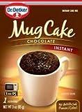 Dr. Oetker Mug Cake Chocolate Instant Cake Mix 3-Ounce (Pack of 12)