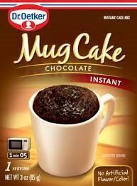 Dr. Oetker Mug Cake Chocolate Instant Cake Mix 3-Ounce (Pack of 4) by Dr. Oetker (Image #1)