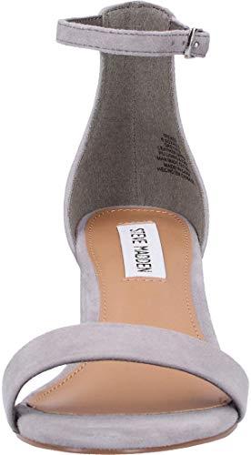 Alla 615 Irenee grey Sandali Caviglia Con Cinturino Madden Steve Donna Suede Grigio aq6Xq
