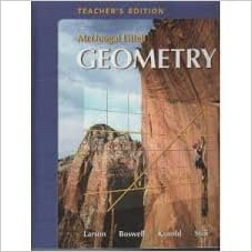 Amazon mcdougal littell geometry teachers edition mcdougal littell geometry teachers edition fandeluxe Images