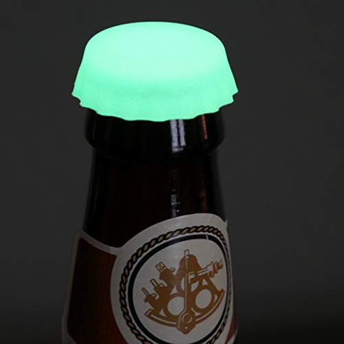 Beer Savers GLOW IN THE DARK Bottle Caps made our CampingForFoodies hand-selected list of 100+ Camping Stocking Stuffers For RV And Tent Campers!