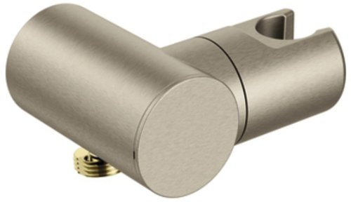 UPC 026508232989, Moen A755BN Drop Ell Handheld Shower Bracket, Brushed Nickel