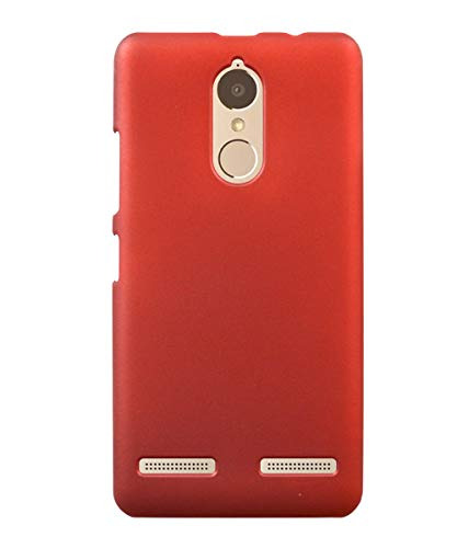 COVERBLACK Plastic Back Cover for Lenovo K6 Power   K33A42   Red