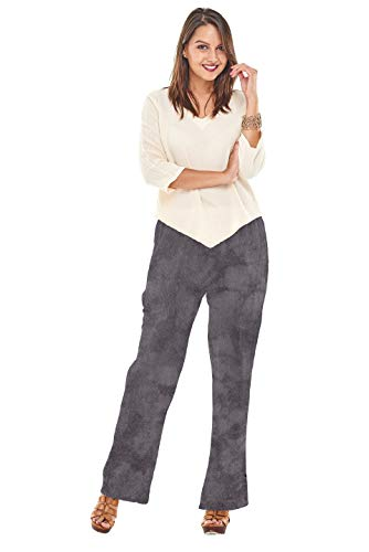 Oh My Gauze Women's Basic Pant XXL Washed-Black