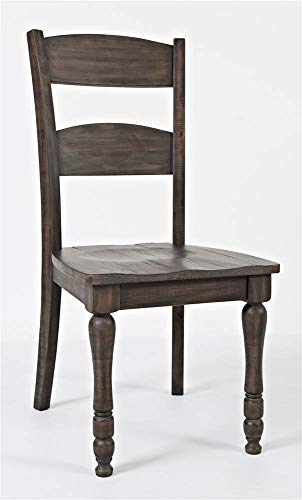 Jofran Ladderback Dining Chair in Barnwood (Chairs Dining Driftwood)